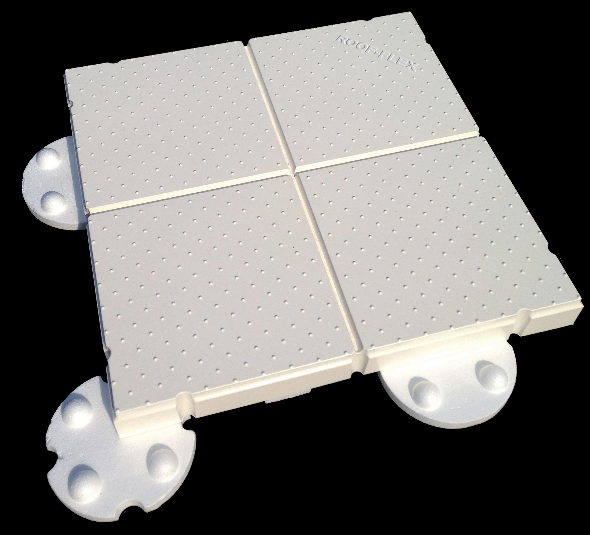 Roofflex witte dak tegel