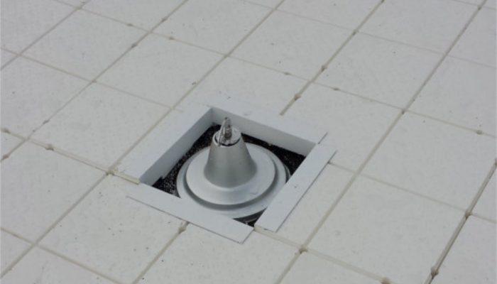 Oppervlakte afwerking Roofflex