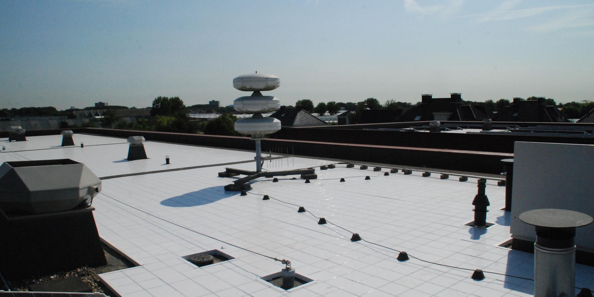 Wit dak, Energiebesparend